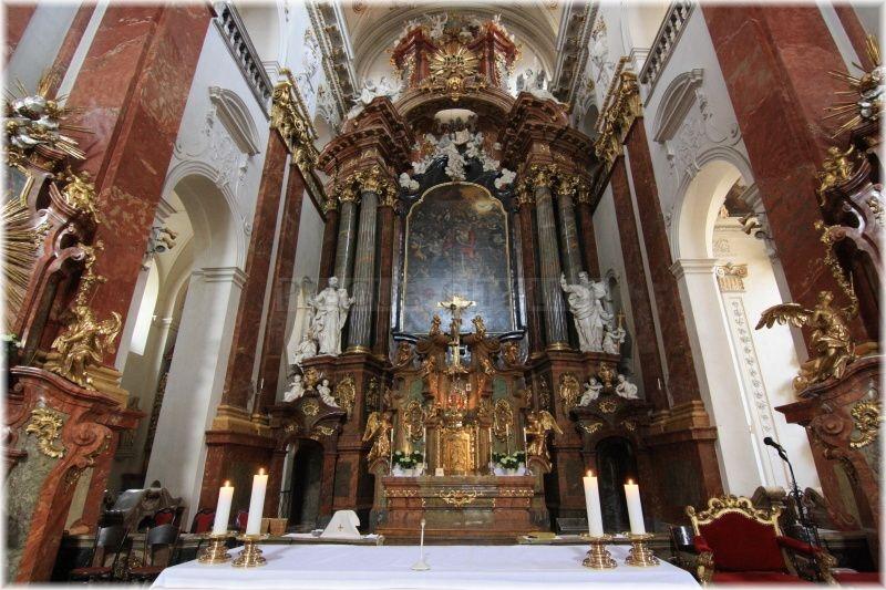 prague city line  u00bb jesuit church of st  ignatius in