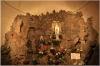 St. Ignatius Church interior - the cave of Lourdes