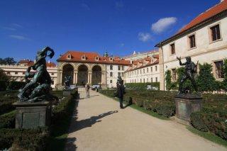 Wallenstein garden(valdštejnská zahrada) - Sala Terrena