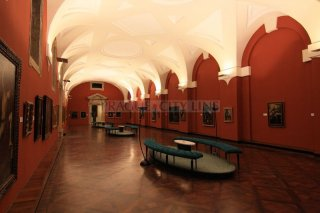 Prague Castle Picture Gallery - interior
