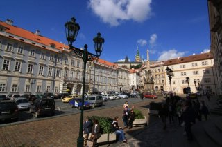 The Lesser Town Square and the Holy Trinity Column