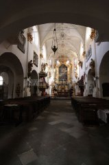 Church of Mary Virgin under the Chain - interior