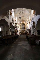 Church of Mary Virgin under the Chain - interior