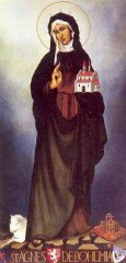 Saint Agnes of Bohemia (Svatá Anežka Česká)