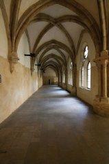 St. Agnes Convent - inner corridor of the monastery