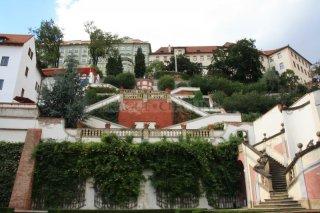 The palace gardens under the Prague Castle - Ledeburská garden