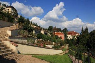 The palace gardens under the Prague Castle - Velká Fürstenberská garden