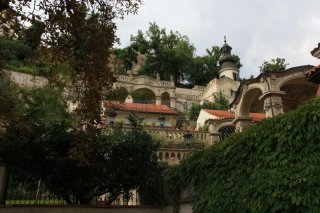The palace gardens under the Prague Castle - Entry