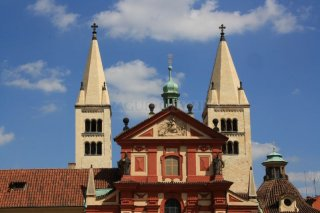 Basilica of St. George (czech: Bazilika sv. Jiří)