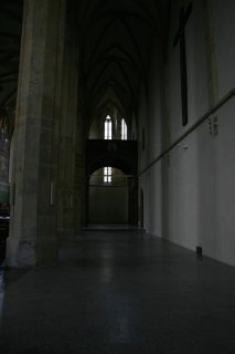 Prague 2, Emmaus (Emauzy) - interior