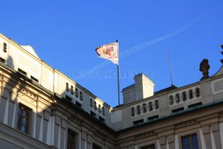 Flag of the President of the Republic at Prague Castle