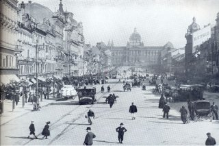 Karel Bellmann Vaclavske Namesti 1890 (Wenceslas Square)