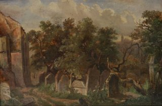 Old jewish cemetery and Pinkas synagogue (1855)