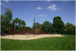 Prague 3 - Vitkov Hill - playground