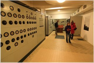 Former mausoleum of the first communist president Klement Gottwald - Control Room