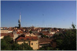 Prague 3 - Zizkov view from Vitkov Hill