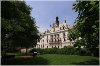 Charles Square - Building of the City Court in Prague
