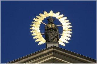 Church of St. Ignatius and Statue of St. Ignatius