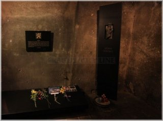 The Memorial to the Heroes of the Heydrich Terror - crypt