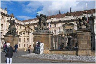 Prague Castle - I. Courtyard