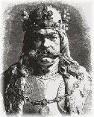 Czech king - George of Poděbrady (czech: Jiří z Poděbrad)