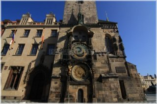 Prague 1 - Old Town Square - Old Town Hall and Orloj