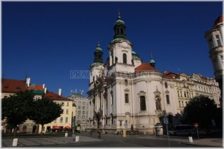 Prague 1 - Old Town Square - Church of St. Nicholas
