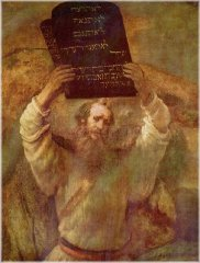 Rembrandt Van Rijn - Moses with the Tablets of Law
