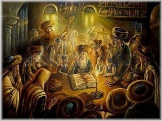 Rabbi interprets the Torah