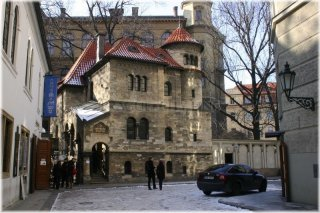 Prague 1 - Old Jewish Town - Jewish Ceremonial Hall - building of Prague Burial Society