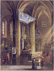 Old New Synagogue - interior