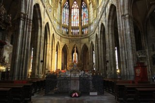 St. Vitus Cathedral (Chrám sv. Víta)- inside the Cathedral