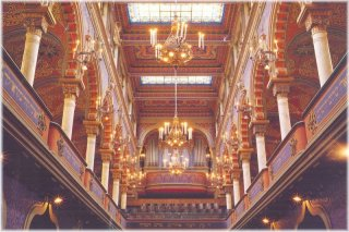 Jubilee Synagogue in Jerusalem Street - interior