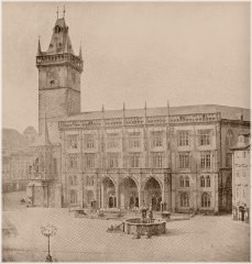 Old Town Square and Old Town Hall (1856)