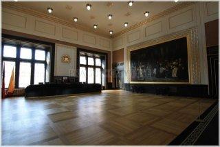 Prague - Old Town Square - Old Town Hall - Brozik Hall (czech: Brožíkova síň