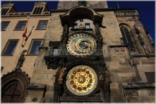 Prague, Old Town Square, Old Town Astronomical Clock (czech: Orloj)