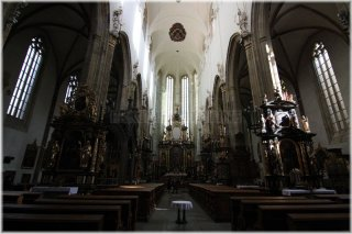 Prague 1 - Old Town Square - Church of Our Lady before Týn - interior
