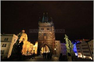Prague 1 - The Old Town Bridge Tower (czech: Staroměstská mostecká věž))