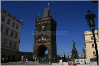 Prague 1 - The Old Town Bridge Tower (czech: Staroměstská mostecká věž))