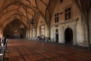 Old Royal Palace  -  Vladislav Hall