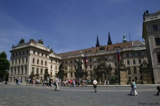 Prague Castle - The main entrance gate