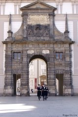 Prague Castle- Matthias Gate