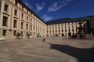 Prague castle - II. Courtyard