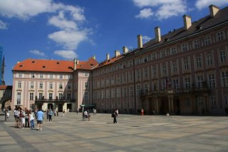 Prague castle - III. Courtyard