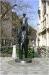 Statue of Franz Kafka in Dušní street