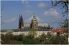 Petřín Hill - Seminary Garden (czech: Seminářská zahrada) - view of Prague castle