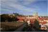 Vrtbovská Garden and beautiful view of Prague castle