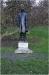 The statue of the composer Vítězslav Novák