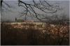 Petřín – Nebozízek Garden and view of Prague Castle