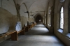 St. Agnes Convent - inner corridor of the monastery